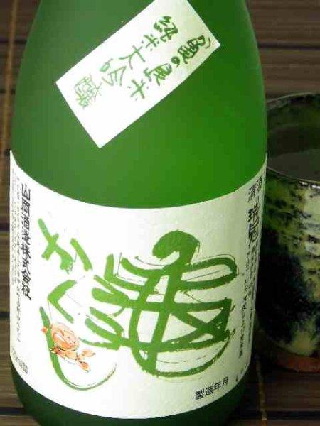 画像1: 山岡酒造 瑞冠 純米大吟醸 亀かくし720ml (1)